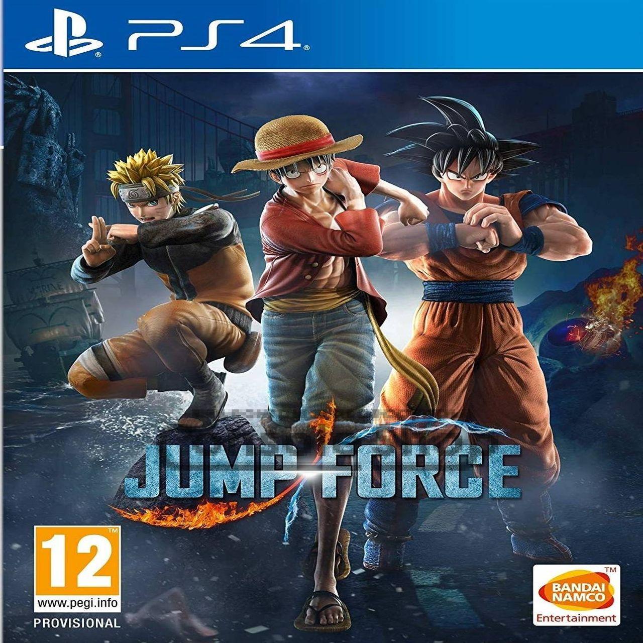 Jump Force (русские субтитры) PS4