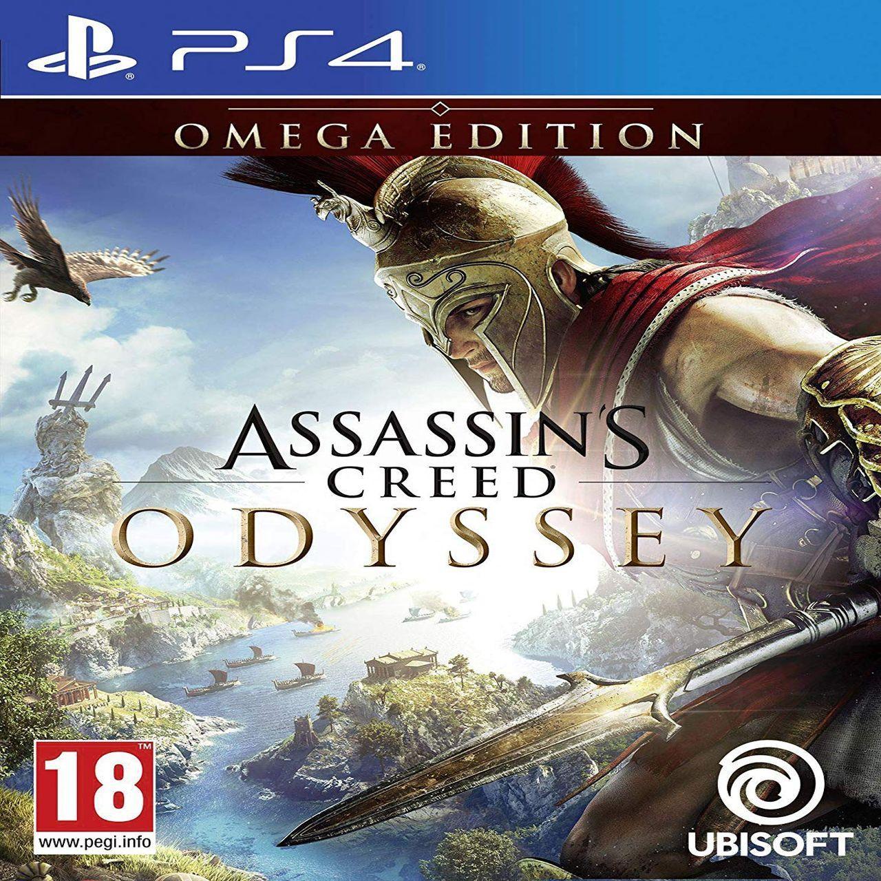 Assassin's Creed: Odyssey Omega Edition (русская версия) PS4