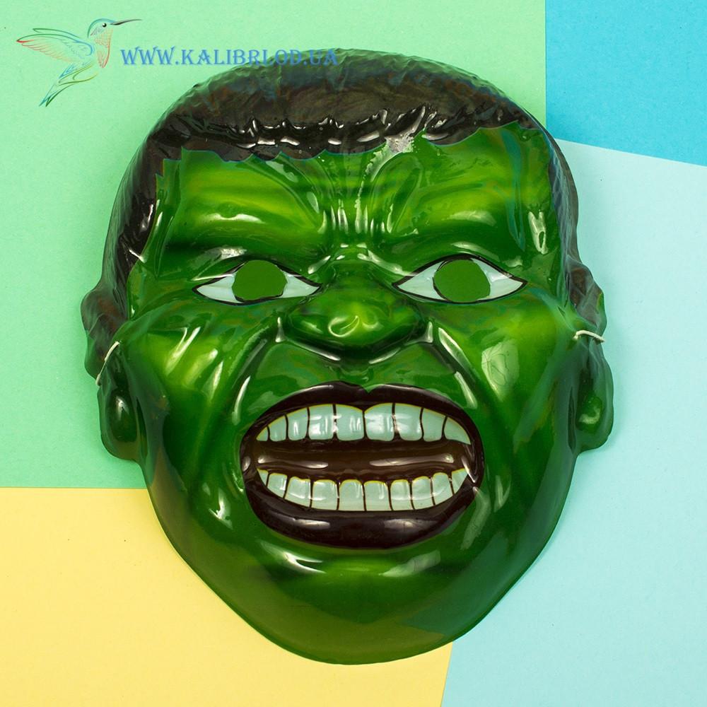 Детская маска для утренника Халк
