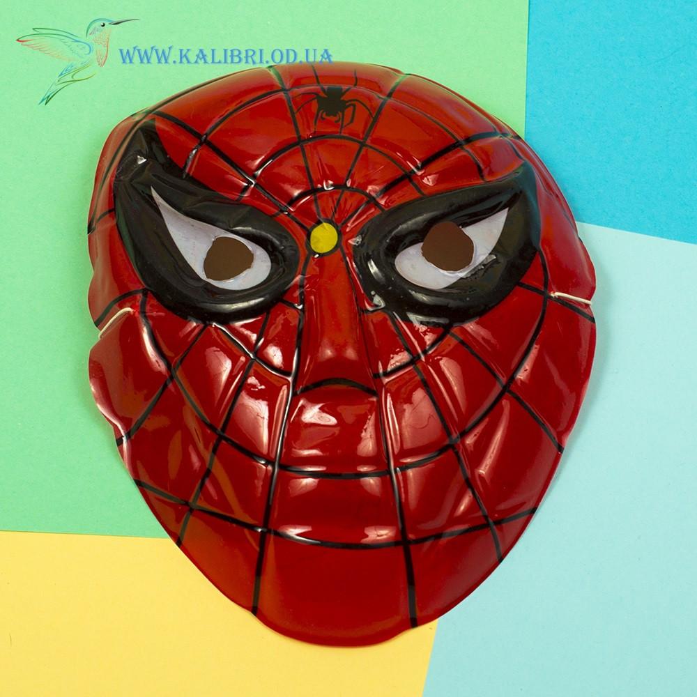 Детская маска для утренника Человек-Паук