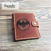 Бумажник (кошелек) мужской кожаный (из натуральной кожи)