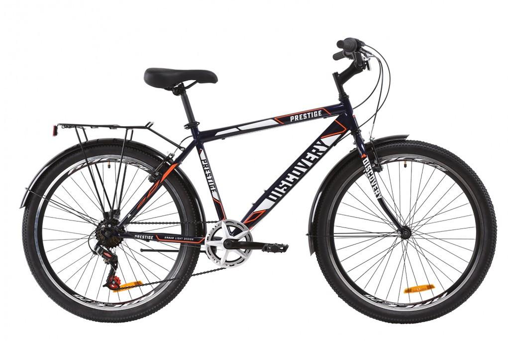"""Велосипед городской мужской 26"""" Discovery Prestige Man 2020 стальная рама 18"""""""