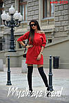 Тепла жіноча сукня на флісі, фото 2