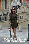 Тепла жіноча сукня на флісі, фото 6