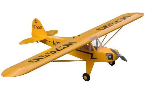 Модель на радиоуправлении самолета Piper J3 Cub RТF