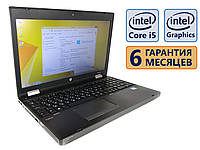 Ноутбук HP 6570b COM-Port 15.6 (1366x768) / Intel Core i5-3210M (2x max3.1GHz) / RAM 4Gb / HDD 320Gb / АКБ 54wh. / Сост. 9 из 10 БУ
