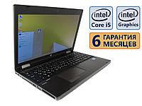 Ноутбук HP Probook 6570b COM-Port 15.6 (1366x768) / Core i5-3340M (2x max3.4GHz) / RAM 4Gb / HDD 320Gb / АКБ 49wh. / Сост. 9  из 10 БУ