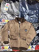 Кофты вязаные для мальчика 1-3 года