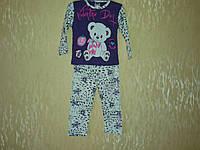 Костюмчик для девочки (пижама )