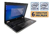Ноутбук HP 6570b COM-Port 15.6 (1920x1080)/ Intel Core i5-3320M (2x max3.2GHz)/ RAM 8Gb/ SSD 180Gb/ АКБ 44Wh./ Сост. 9 из 10 БУ