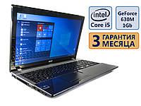 Ноутбук Acer Aspire V3-571G 15.6 (1366x768)/ Core i5-3210M (2x 3.1GHz)/ GeForce GT 630M, 1Gb/ RAM 8Gb/ HDD 750 Gb/ АКБ 18Wh./ Сост. 8,5 из 10