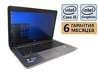 "Ноутбук HP EliteBook Folio 1040 G1 (4g) 14"" (1920x1080)/ Intel Core i5-4300U (2x max2,90GHz)/ RAM 4GB / SSD 128GB / АКБ 29Wh / Сост. 8 из 10 БУ"