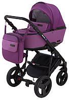 Детская коляска 2 в 1 Richmond Mirello кожа 100% (фиолетовый - сиреневый), фото 1