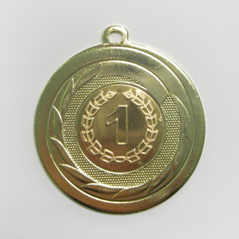 """Нагородна медаль 50 мм """"золото"""""""