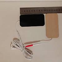Электроды липучки + кабель подключения для Ченс и Cкэнар аппаратов, фото 1