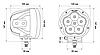 Комплект светодиодных фар ProLight (120Вт), фото 6