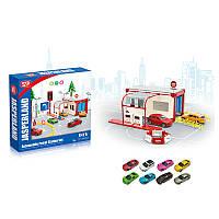 Детская игрушка паркинг для мальчиков 5279-22  с машинками, в кор.28*26*4,5см
