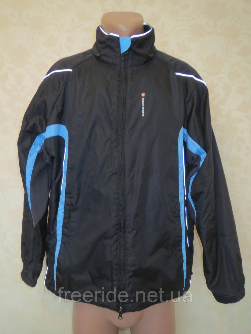Вело куртка на флисе TCM (как XL) windstopper
