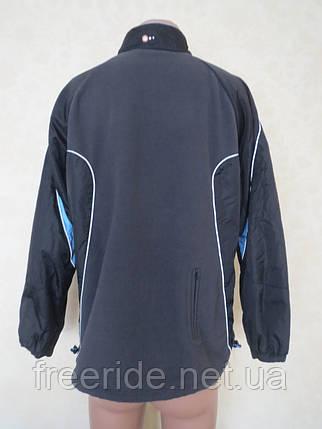 Вело куртка на флисе TCM (как XL) windstopper, фото 2