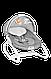 Шезлонг качалка для ребенка с подсветкой Lionelo Henk, фото 4
