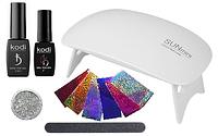"""Стартовый набор для покрытия ногтей гель лаком Kodi Professional """"минимальный"""" №2"""