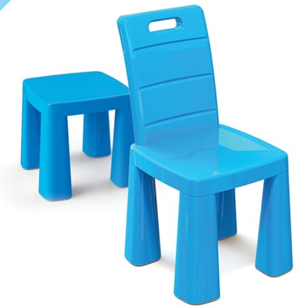 """Детский стульчик ТМ """"Долони""""  (04690-1) Голубой"""