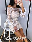 Вишукана сукня з відкритими плечима, фото 4
