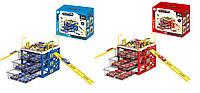 Детская игрушка паркинг для мальчиков G6588/G6688 2 вида, 3 яруса машин, в коробке 24,8*20,8*22,4см