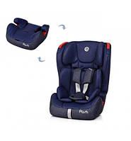 Детское автокресло бустер Isofit POSH ME1018-4 Blue 1-12 лет 9-36 кг , 1/2/3 категория, фото 1