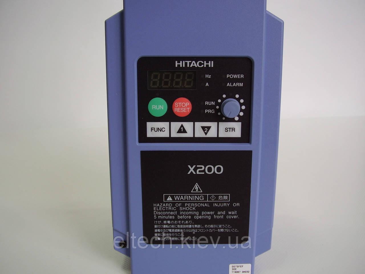 Частотный регулятор X200-007SFEF, 0.75кВт, 220В