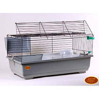 Клетка Rabbit 100KIT. 100x55x45 см. Грызуны, фретки, кролики, морские свинки и для других экзотических животных.
