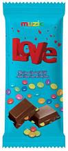 Молочный шоколад  Love Vanelli  с разноцветным драже , 60 гр