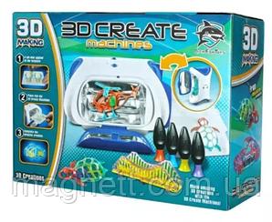 Іграшка 3Д Набір для творчості 3D принтер CREATE MACHINES