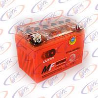 Гелевый аккумулятор 12в 4А YTX4L-BS(GEL) OUTDO клемы коробка