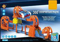 Автотрек игрушечный  PP-JD33604  47дет., машина, свет, звук, в кор. 52*8*34см