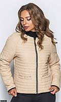 Куртка женская осень-зима большого размера 858399-1