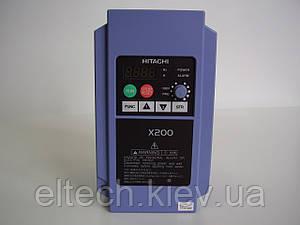 Однофазный преобразователь частоты X200-015SFEF, 1.5кВт, 220В