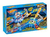 Автотрек игрушечный  7911  машина меняет цвет, в коробке 59*7,5*31,5см