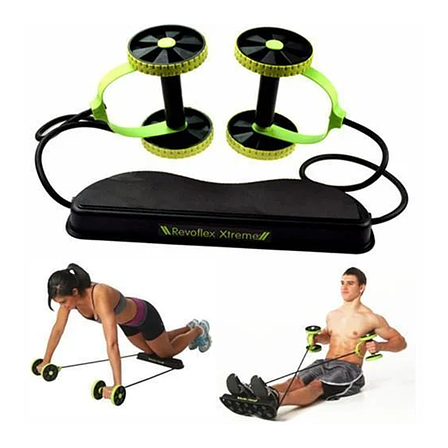 Домашний тренажер Revoflex Xtreme с 6-ю уровнями тренировки, черный цвет, фото 2