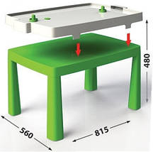 """Детский стульчик ТМ """"Долони""""  (04690-2) Зеленый, фото 3"""
