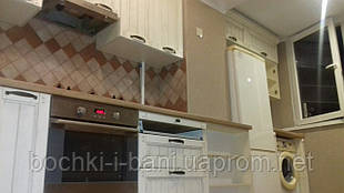 "Кухня с фасадом ""Прованс"""