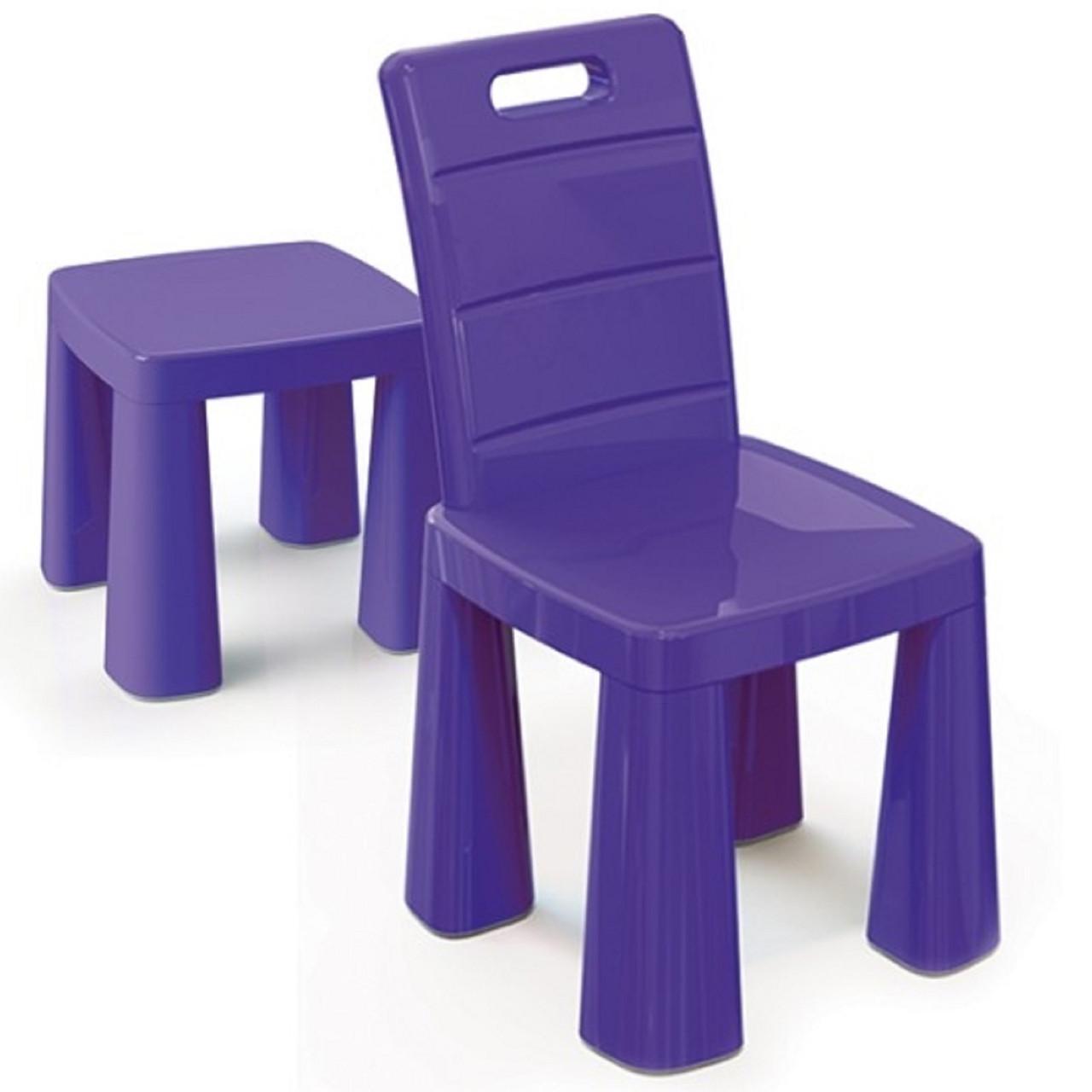 """Детский стульчик ТМ """"Долони""""  (04690-4) Фиолетовый"""