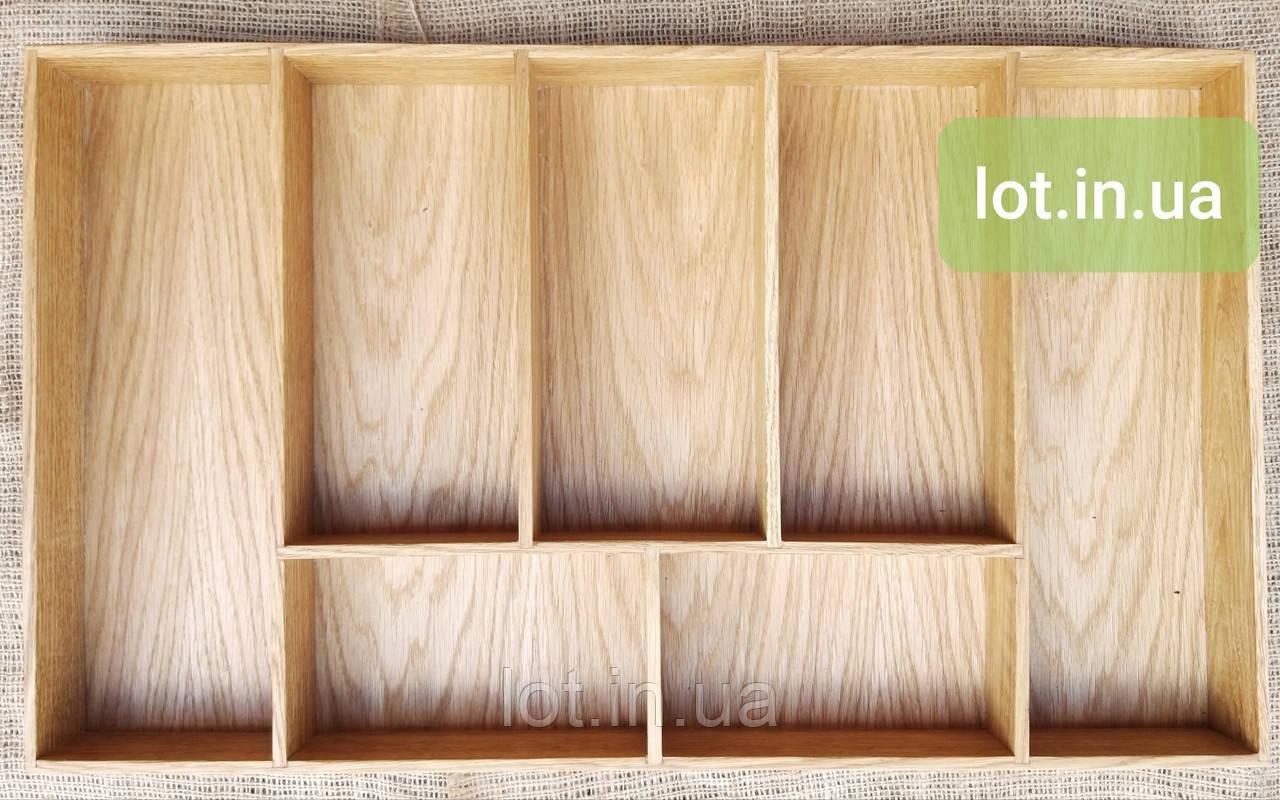 Деревянный лоток для столовых приборов Lot 207 700х400. (индивидуальные размеры)