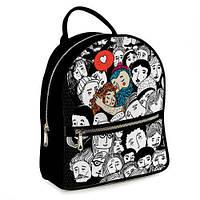 Рюкзак модный для старшеклассницы Любовь ERK_17A023_BL