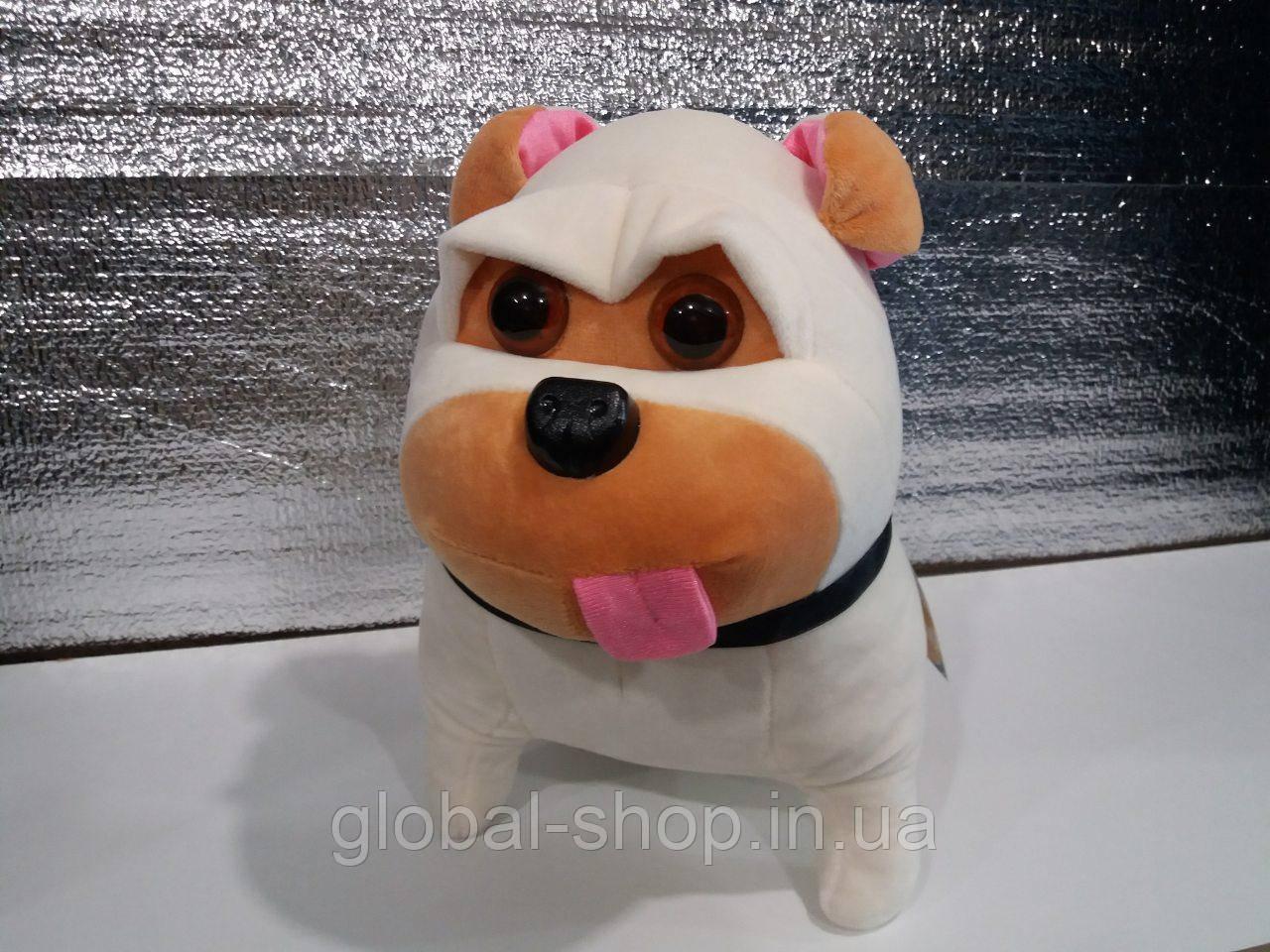 Мягкая игрушка Мопс Мэл 30 см . Жизнь домашних животных