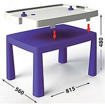 """Детский стульчик ТМ """"Долони""""  (04690-4) Фиолетовый, фото 3"""
