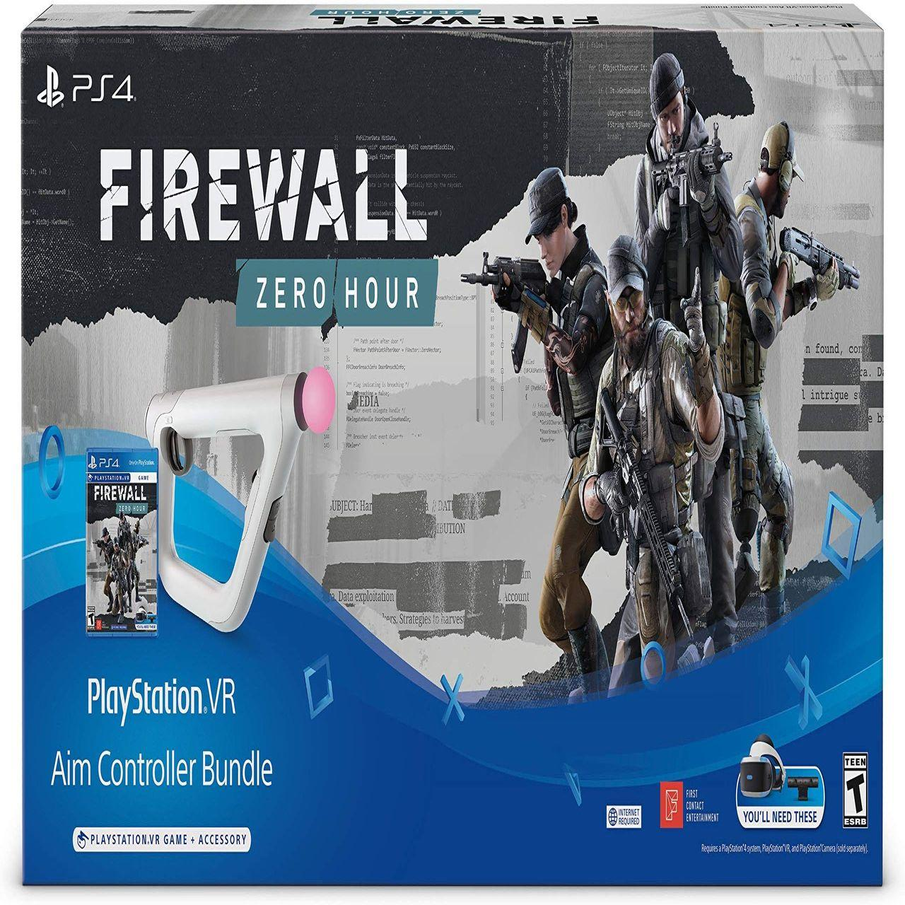 Контроллер прицеливания  Sony Playstation VR Aim Controller + Firewall RUS
