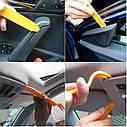 Комплект інструменту для зняття панелей салону ZIRY HF-007 12 pcs orange plastic-metal, фото 7