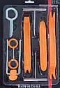 Комплект інструменту для зняття панелей салону ZIRY HF-007 12 pcs orange plastic-metal, фото 2