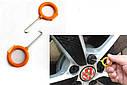 Комплект інструменту для зняття панелей салону ZIRY HF-007 12 pcs orange plastic-metal, фото 10